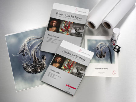 Fine Art paber Hahnemühle Museum Etching 350g/m² Photo Cards 10x15cm 30 lehte