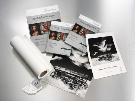 Fine Art paber Hahnemühle Photo Rag® Ultra Smooth 305 g/m² 162,6cm X 12m